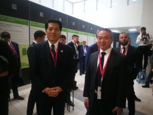 Посол КНР в РФ Ли Хуэй и Президент Fohow Ю Фей
